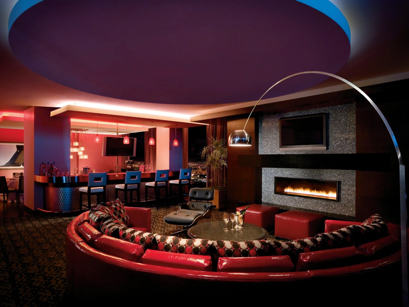 Movie theater in the Sky Villa, Palms Casino Resort in Las Vegas
