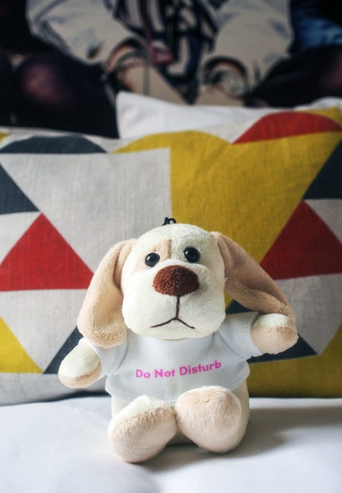 sitting stuffed toy stuffed Dog plush toy puppy dog like mammal textile