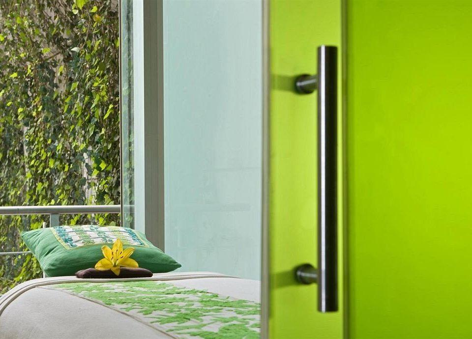 green product door plumbing fixture
