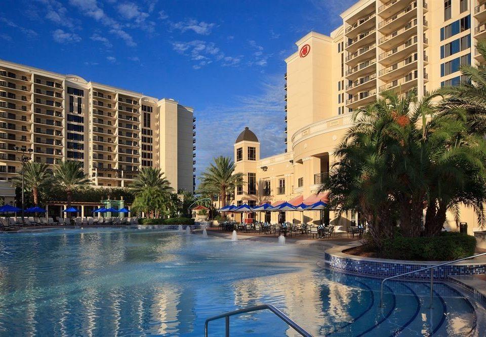 Elegant Lounge Luxury Modern Pool building sky leisure condominium property Resort swimming pool plaza Nature Downtown marina waterway cityscape palace dock