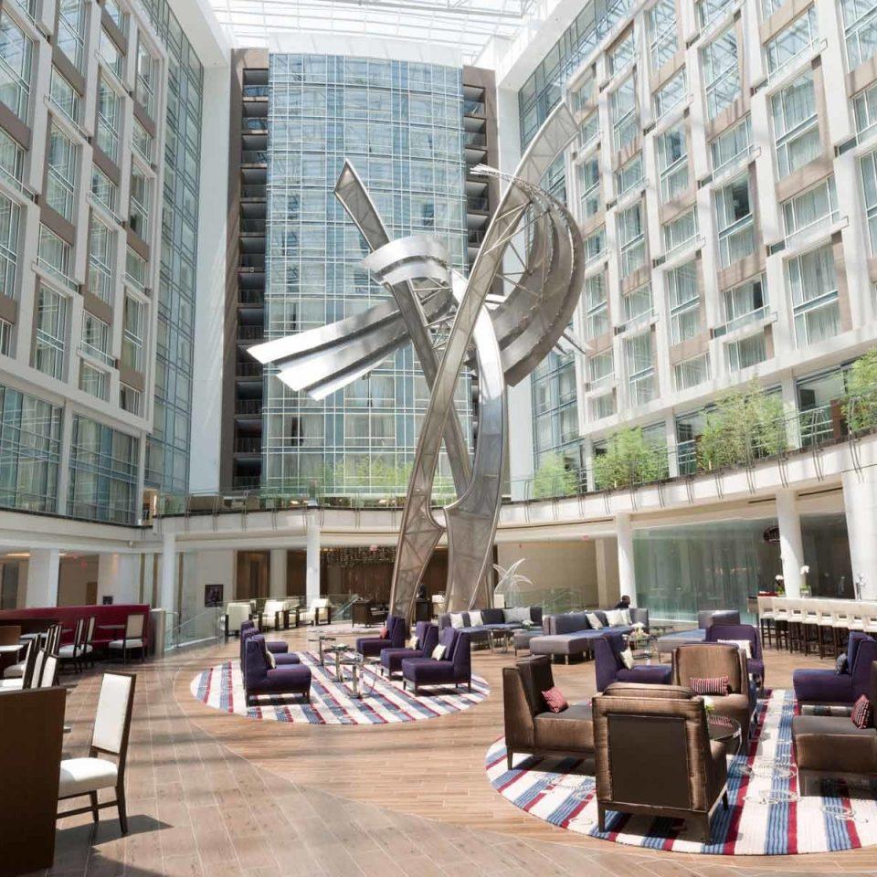 Hotels building mixed use metropolitan area condominium metropolis plaza shopping mall skyscraper Downtown tower block daylighting Lobby headquarters