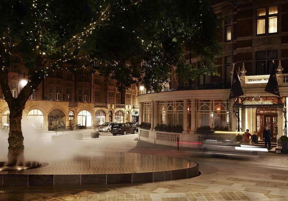 plaza night lighting Downtown evening Lobby shopping mall