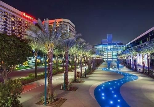 plaza shopping mall Resort night amusement park Downtown Water park cityscape convention center park