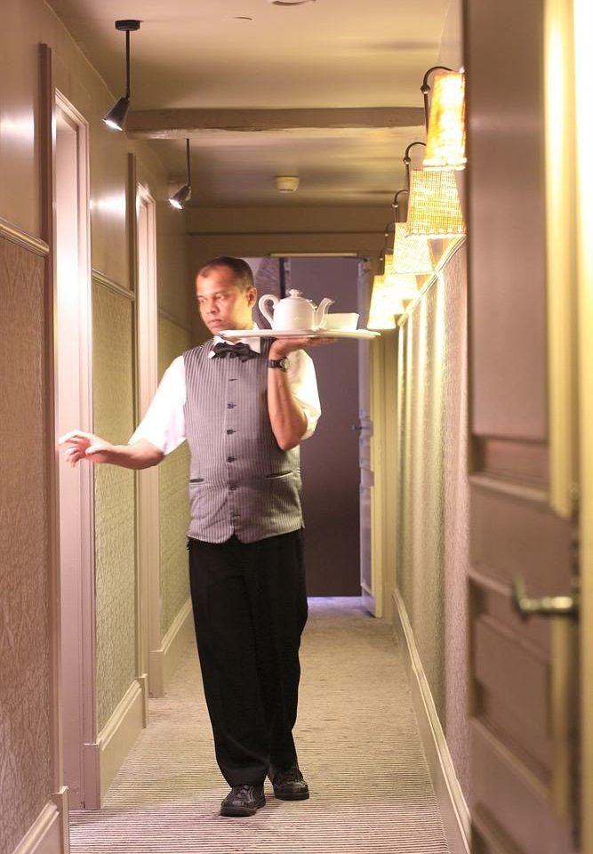 man standing dress