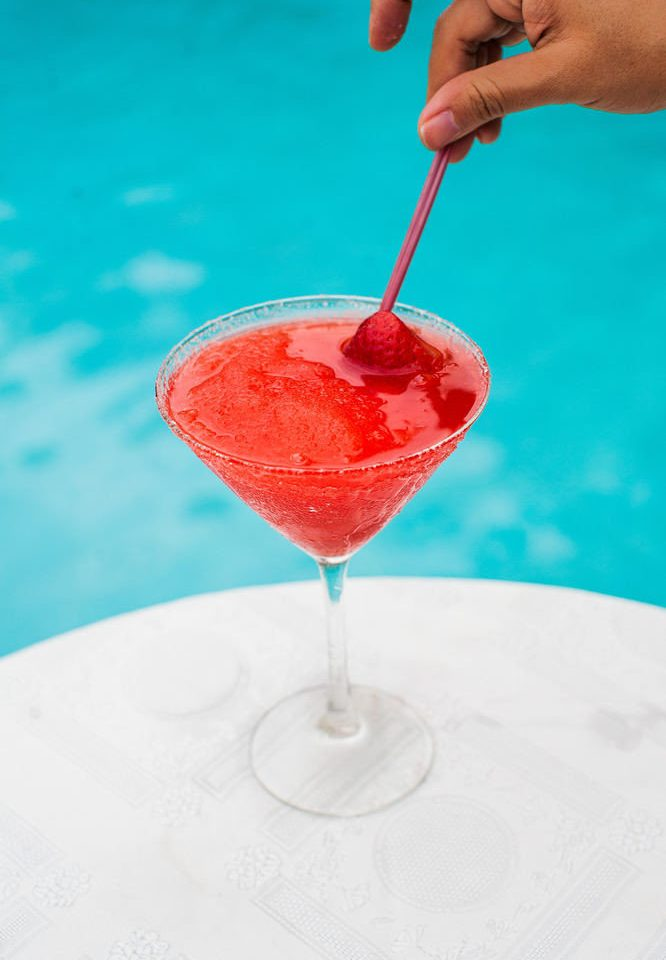water cocktail red Drink food alcoholic beverage martini blue hawaii strawberry dessert margarita fruit distilled beverage beverage