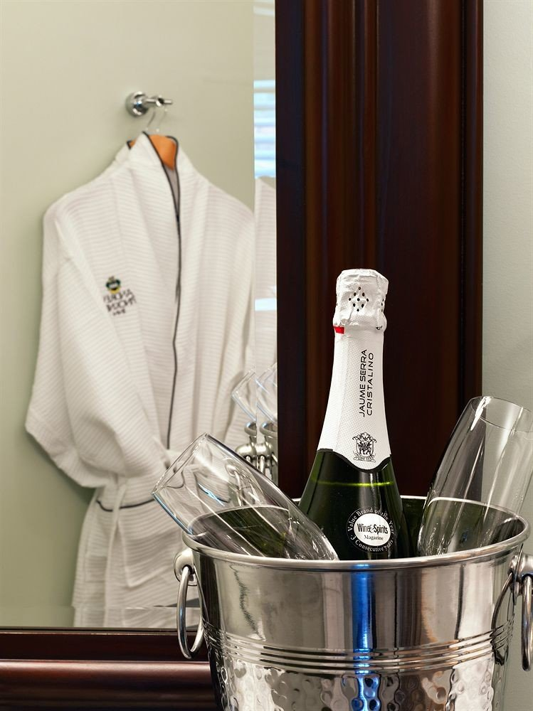 Drink alcoholic beverage wine counter champagne distilled beverage kitchen appliance