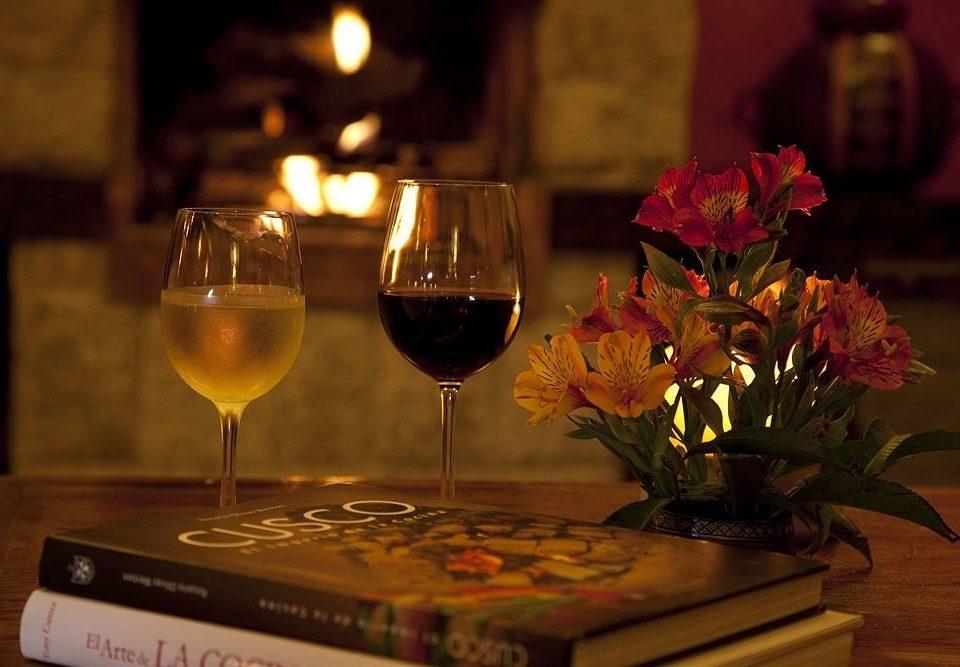 wine glasses red Drink lighting glass dinner centrepiece restaurant wine glass flower