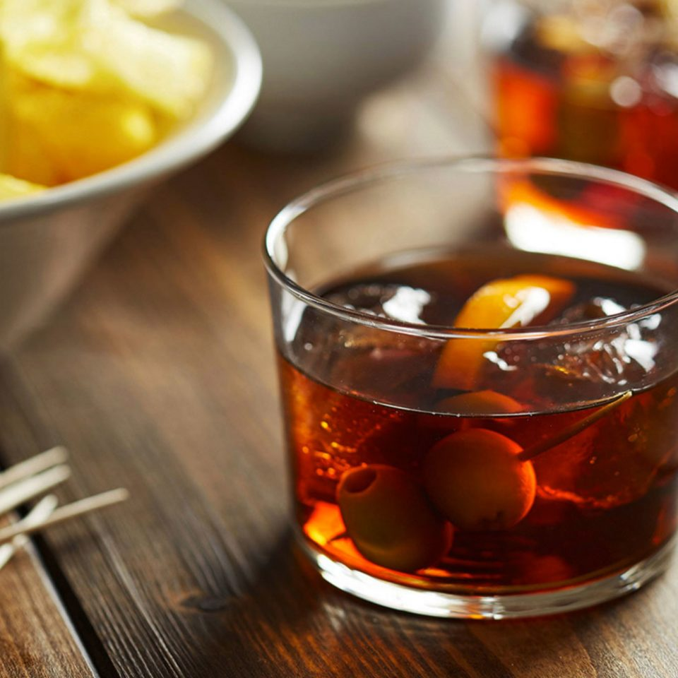cup food Drink distilled beverage negroni old fashioned