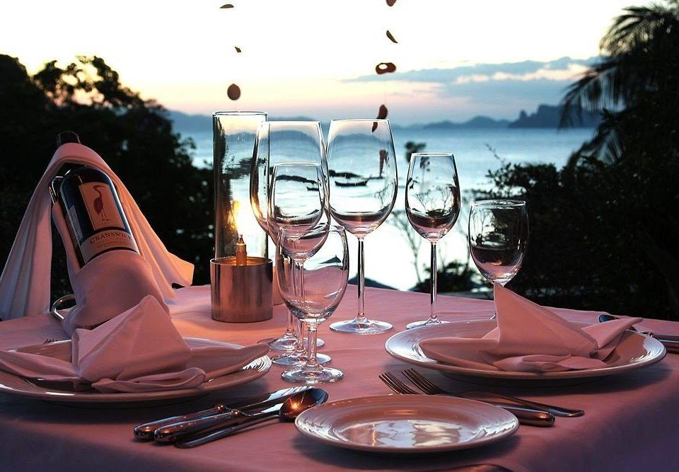 sky restaurant dinner wine Drink