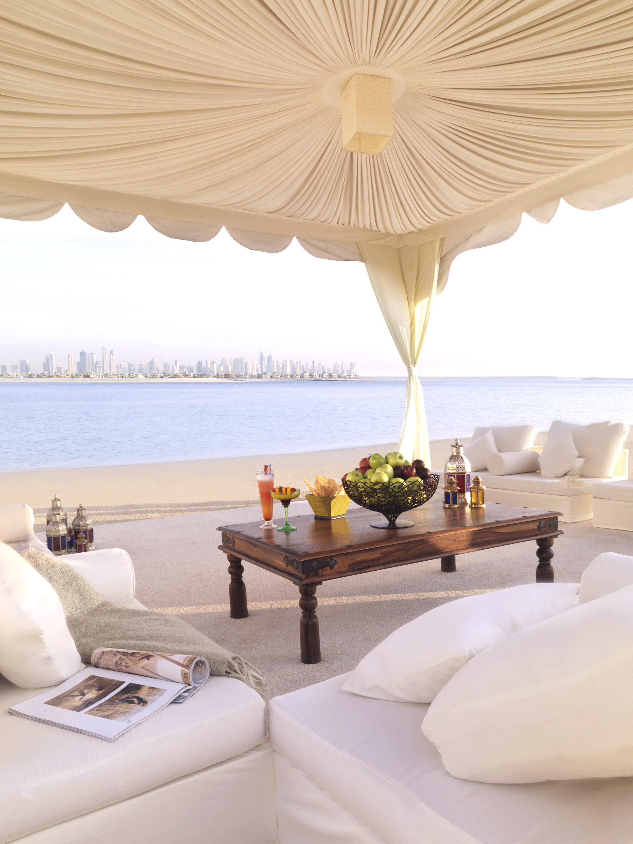 Drink Dubai Food + Drink Hotels Lounge Luxury Travel Middle East Resort Waterfront living room