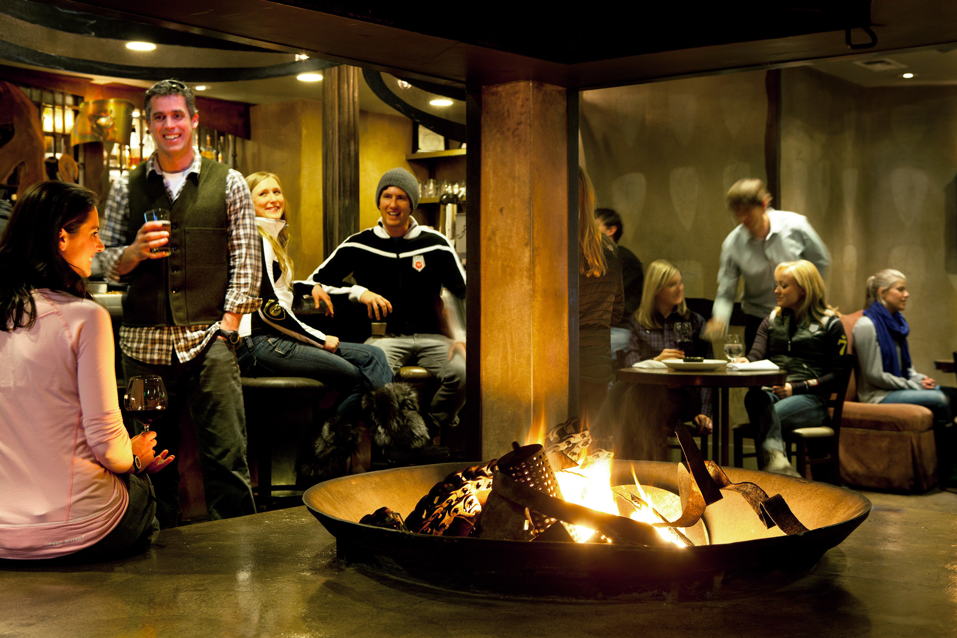 Drink Eat Firepit Nightlife musical theatre restaurant