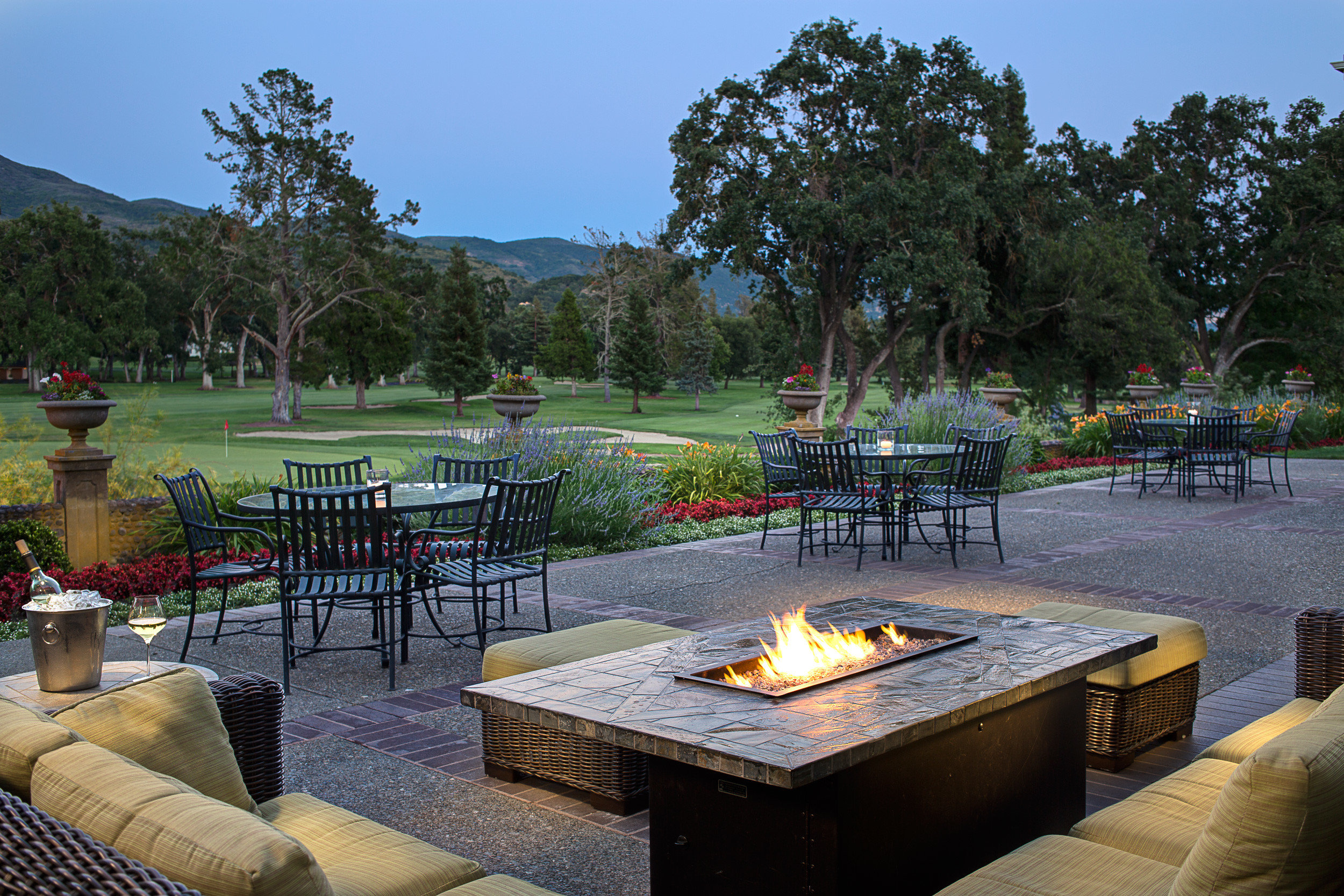 Drink Eat Grounds Mountains Natural wonders Outdoor Activities Outdoors Romance Scenic views Wine-Tasting Winery tree sky chair leisure swimming pool backyard Resort Villa set