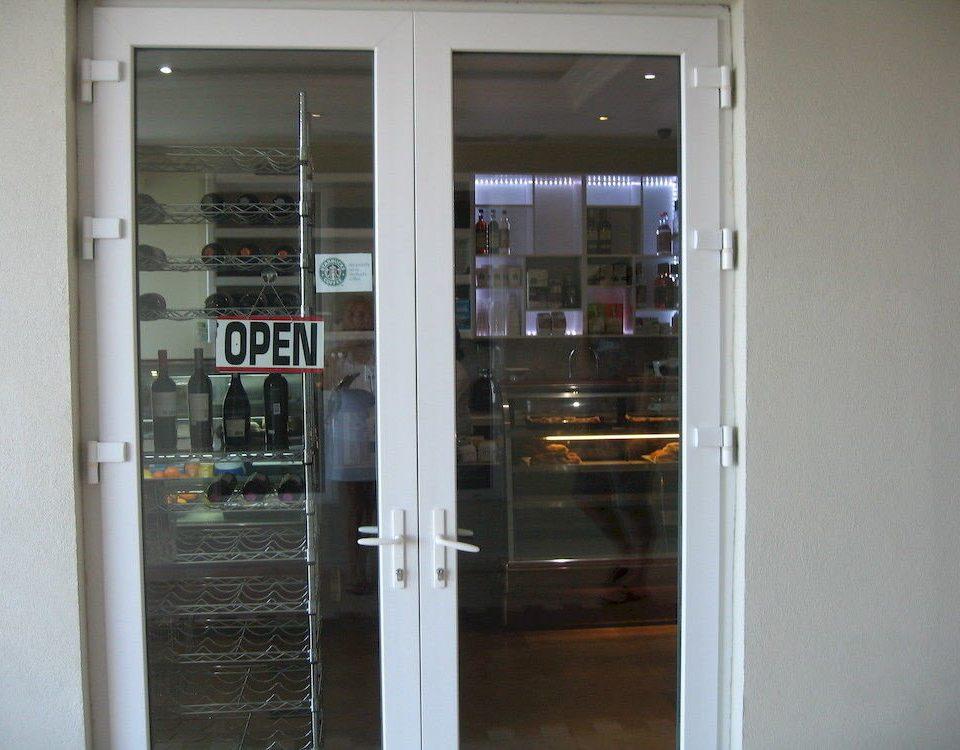 Drink Eat Resort Shop building door glass open opened