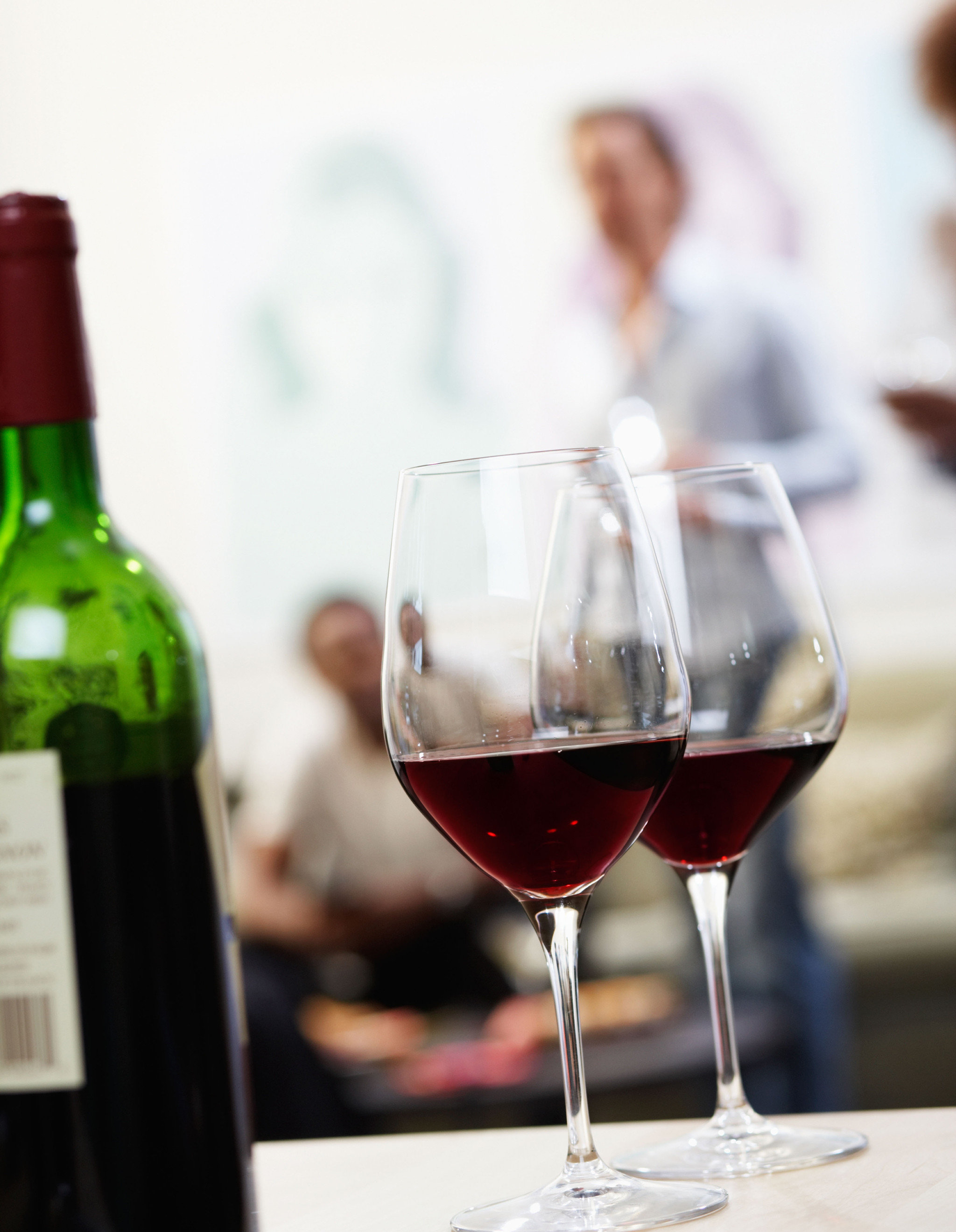 Elegant Historic Inn Romantic Wine-Tasting wine glass alcoholic beverage Drink wine glass red wine stemware wine bottle alcohol drinkware half beverage bottle sense material close