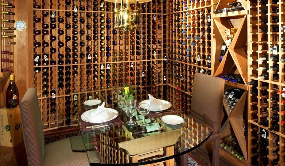 Drink Family man made object Winery basement restaurant wine cellar