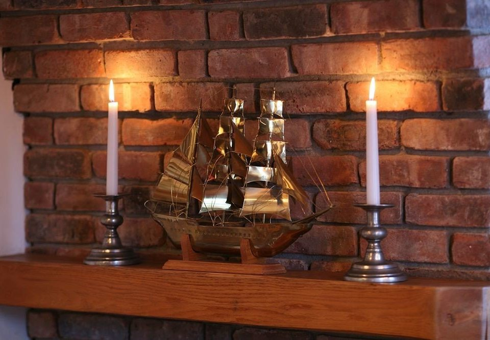 man made object hearth lighting Drink