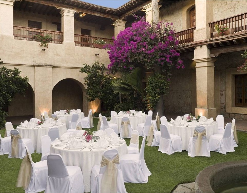 banquet function hall white ceremony aisle wedding flower Party wedding reception Drink ballroom