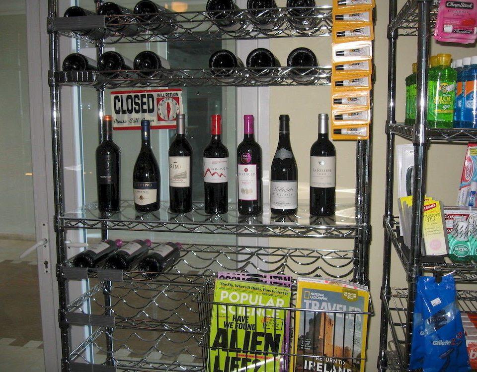 Resort shelf liquor store Drink lots different minibar