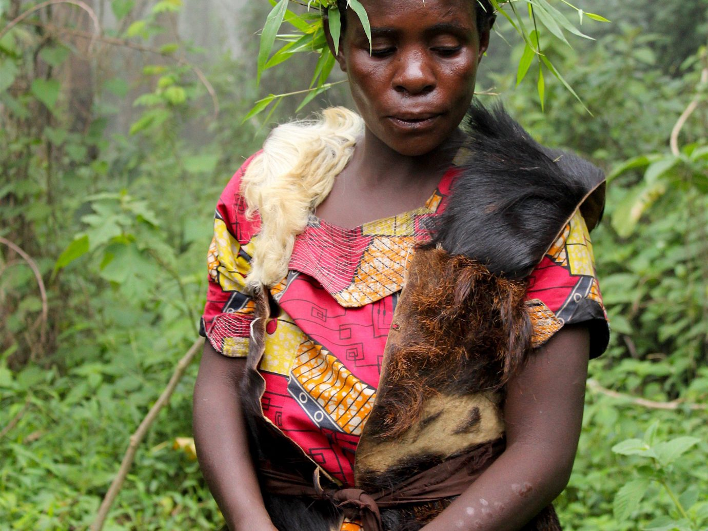 africa Trip Ideas tree outdoor person grass tribe plant tradition Jungle girl Forest
