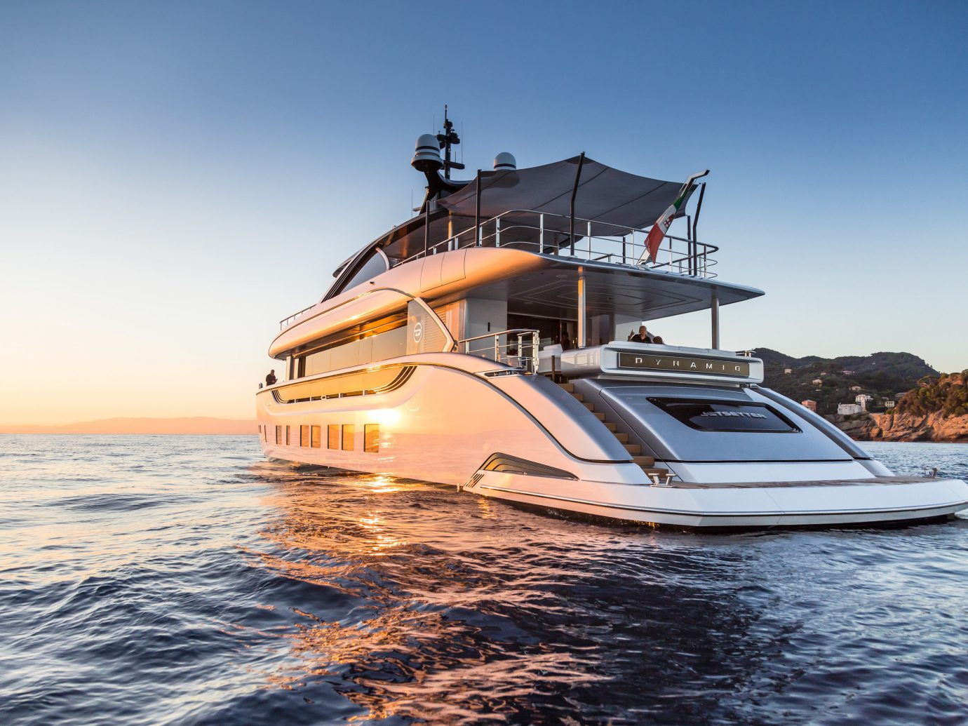 Luxury Travel Trip Ideas sky water outdoor Boat vehicle luxury yacht passenger ship ship motor ship yacht ecosystem watercraft Sea motorboat boating
