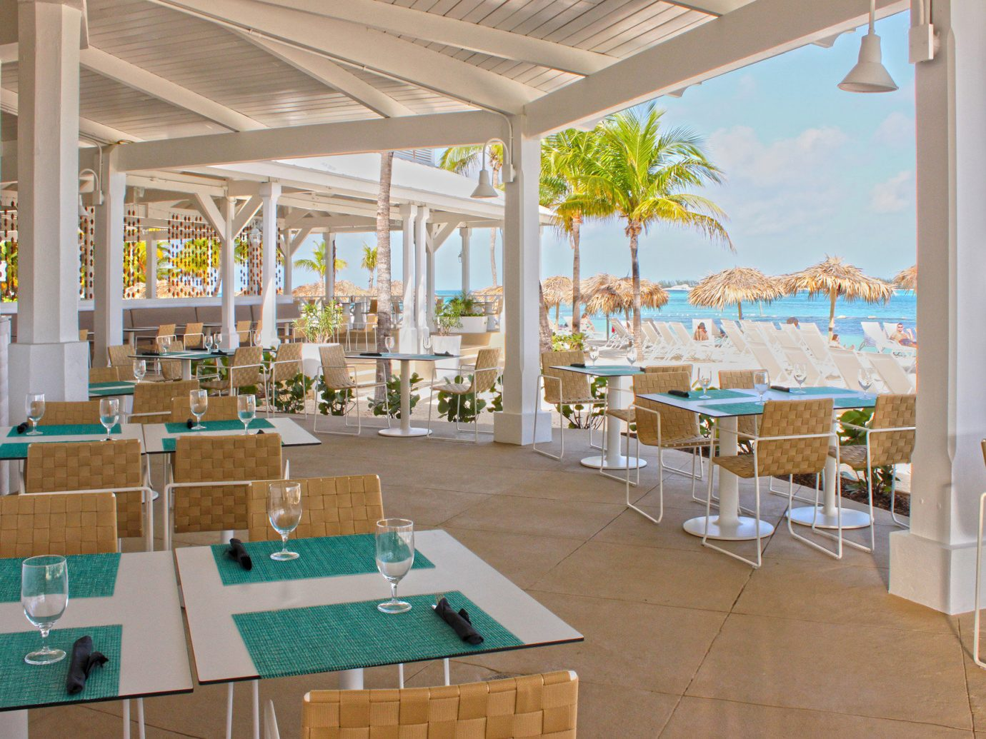 Outdoor restaurant at Meliá Nassau Beach - All Inclusive