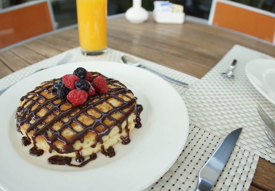 Eat plate food breakfast waffle belgian waffle dessert brunch chocolate baking flavor