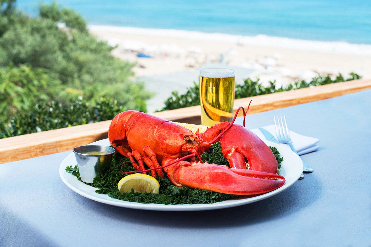 Eat arthropod plate invertebrate food animal Seafood fish lobster animal source foods