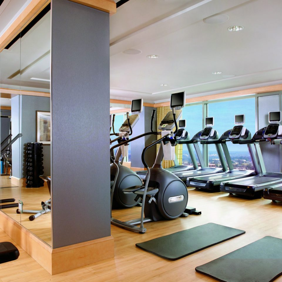 Eco Fitness Modern structure desk sport venue gym condominium physical fitness office
