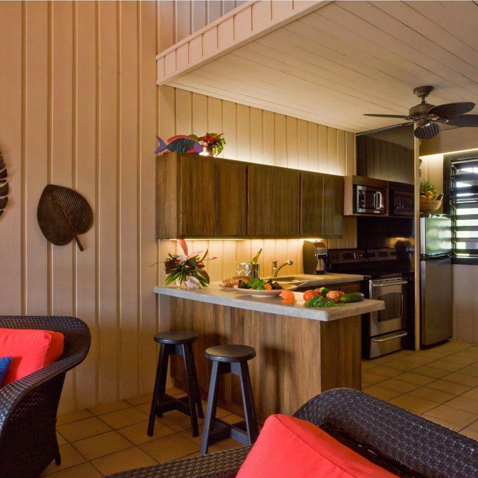 Eco Island Kitchen Lounge Outdoor Activities Waterfront property living room home cottage Suite condominium