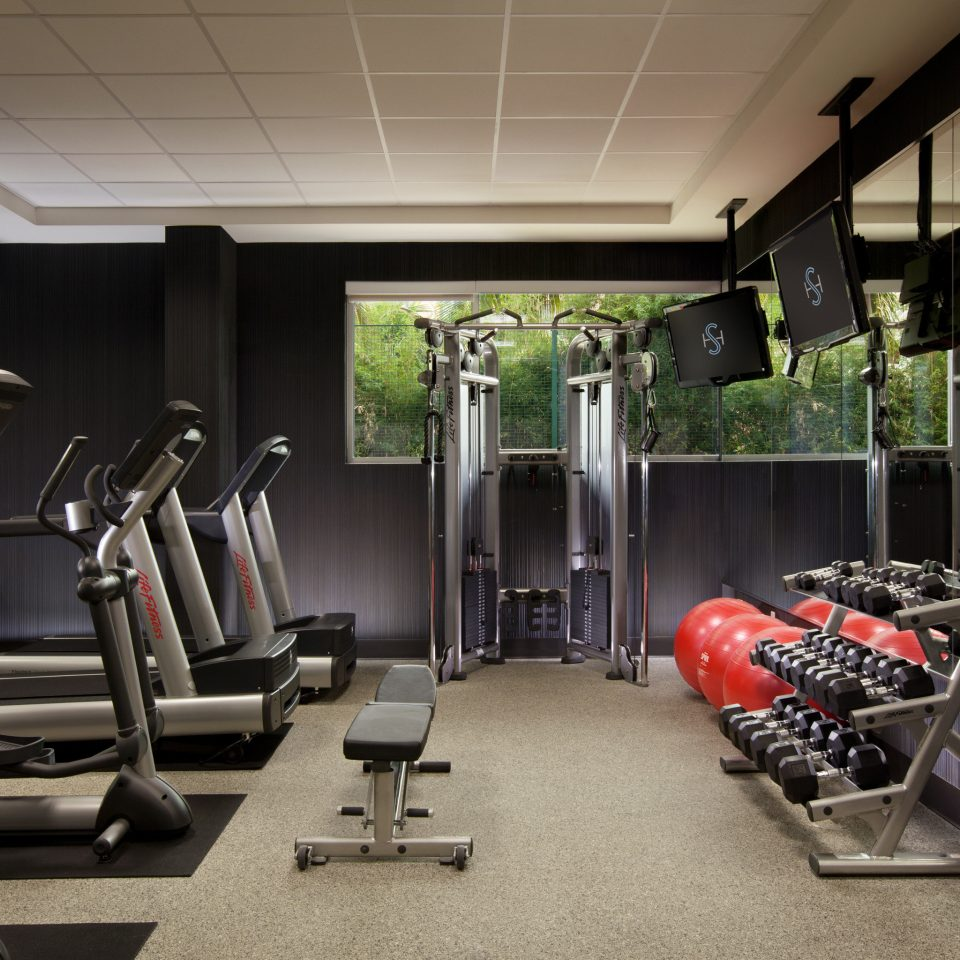 Eco Modern Wellness structure gym sport venue