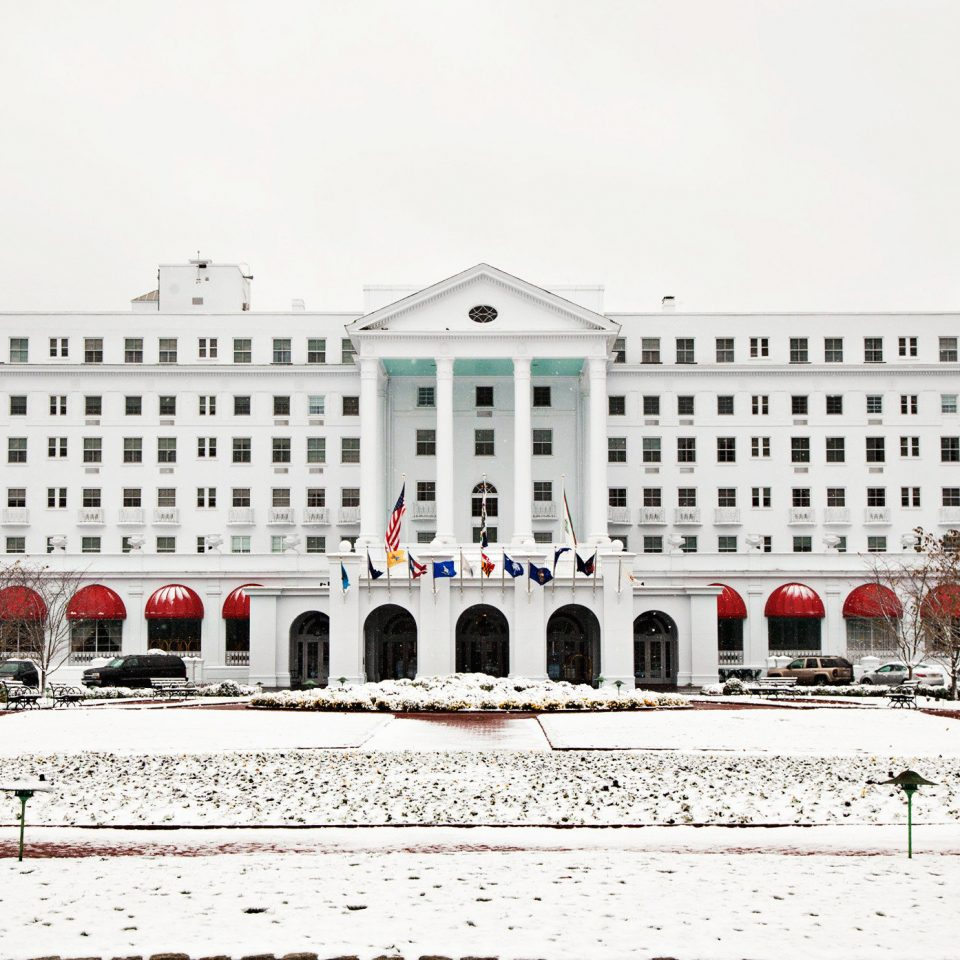 Elegant Exterior property plaza snow palace