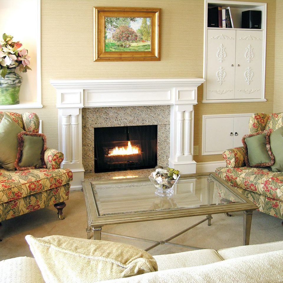 Elegant Fireplace Historic Lounge Luxury sofa living room property home hardwood cottage studio couch