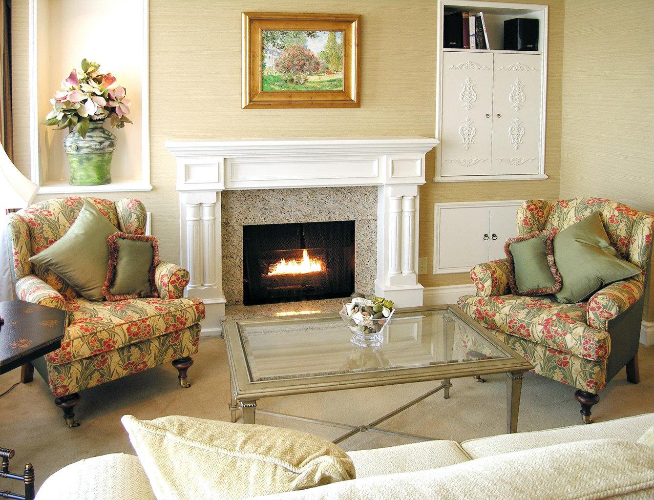 Elegant Fireplace Historic Lounge Luxury sofa living room property home hardwood cottage studio couch