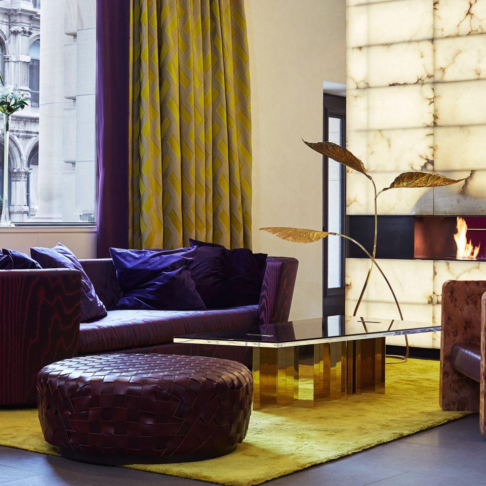 Elegant Fireplace Historic Modern color living room house home arranged