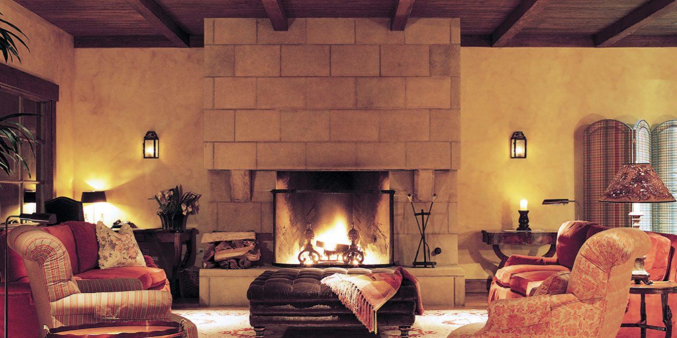 Elegant Fireplace Lobby Lounge old house living room home lighting restaurant