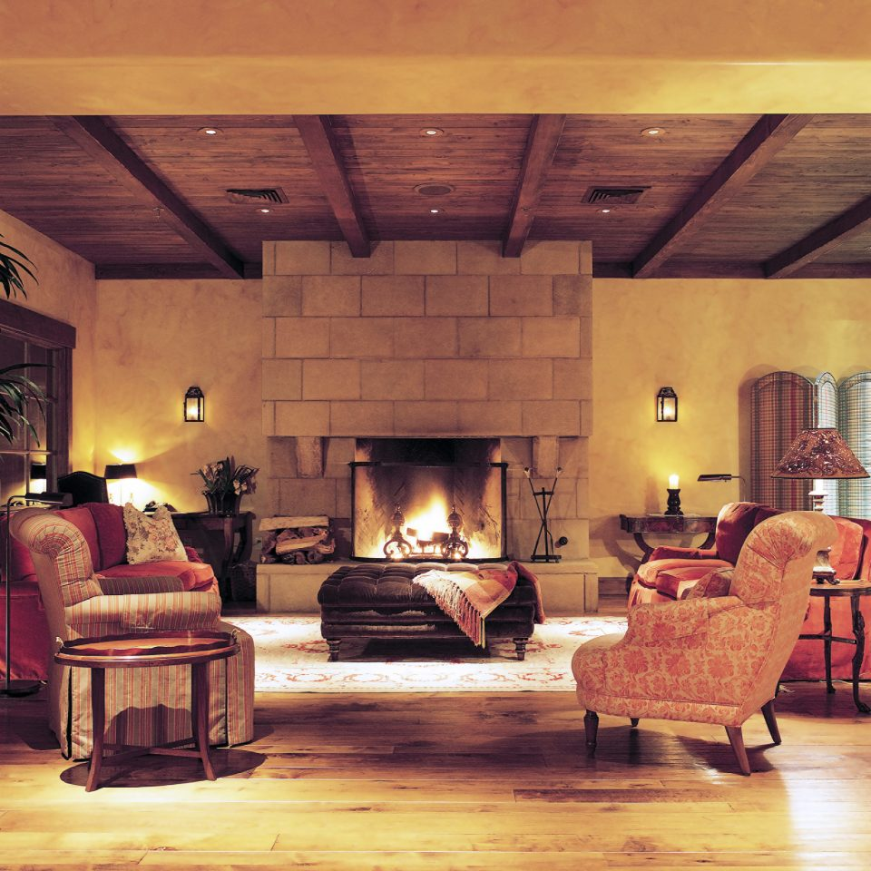 Elegant Fireplace Lobby Lounge old house living room home lighting restaurant