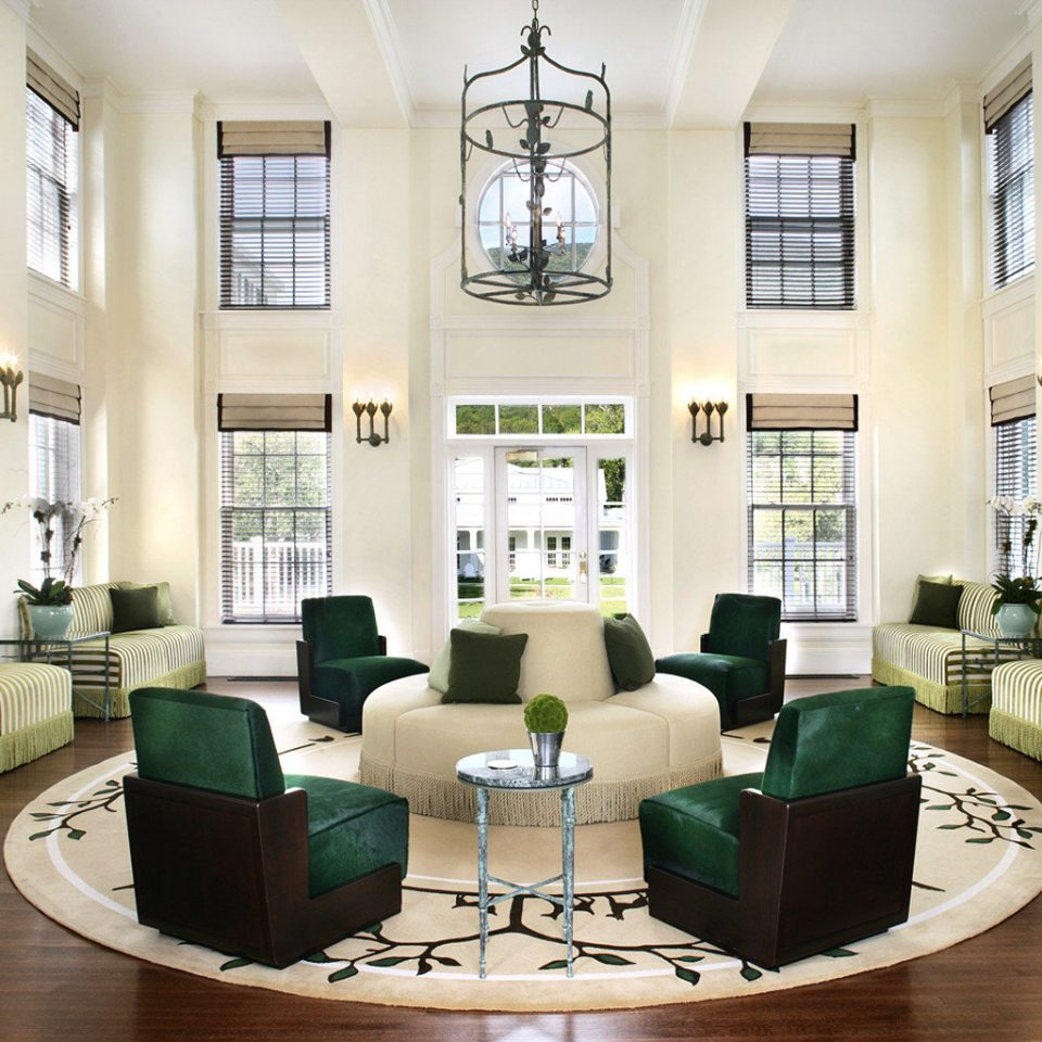 Elegant Fireplace Lounge Luxury green property living room Lobby condominium home mansion leather