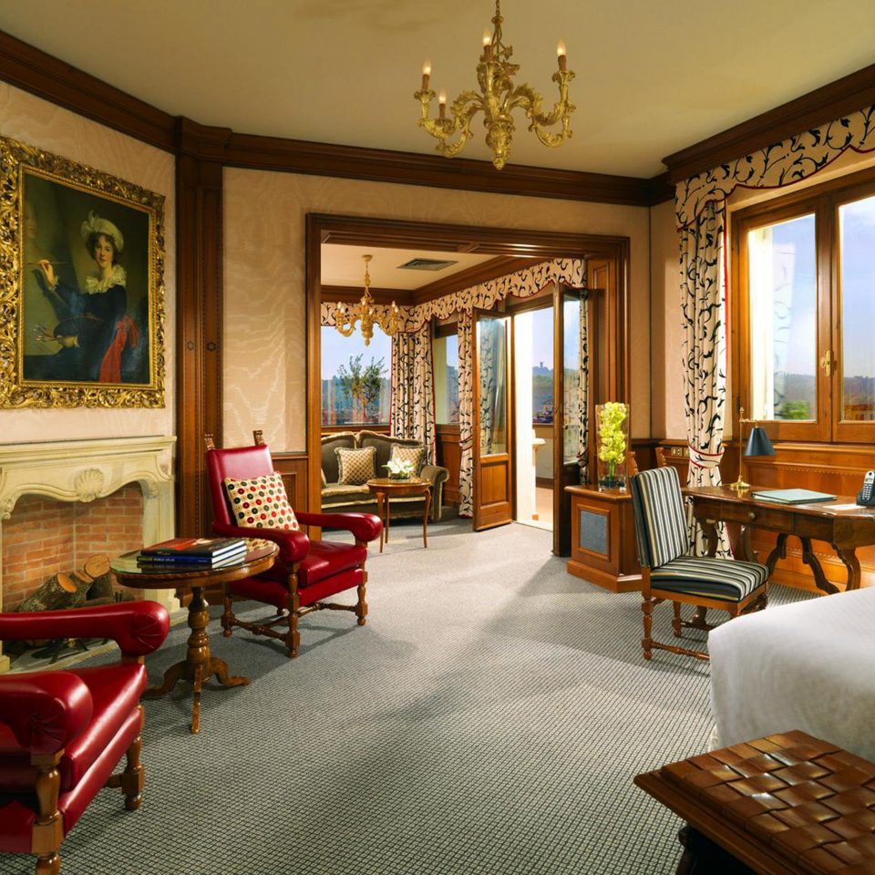 Elegant Florence Historic Hotels Italy Luxury Suite property living room Resort home mansion Villa Lobby condominium