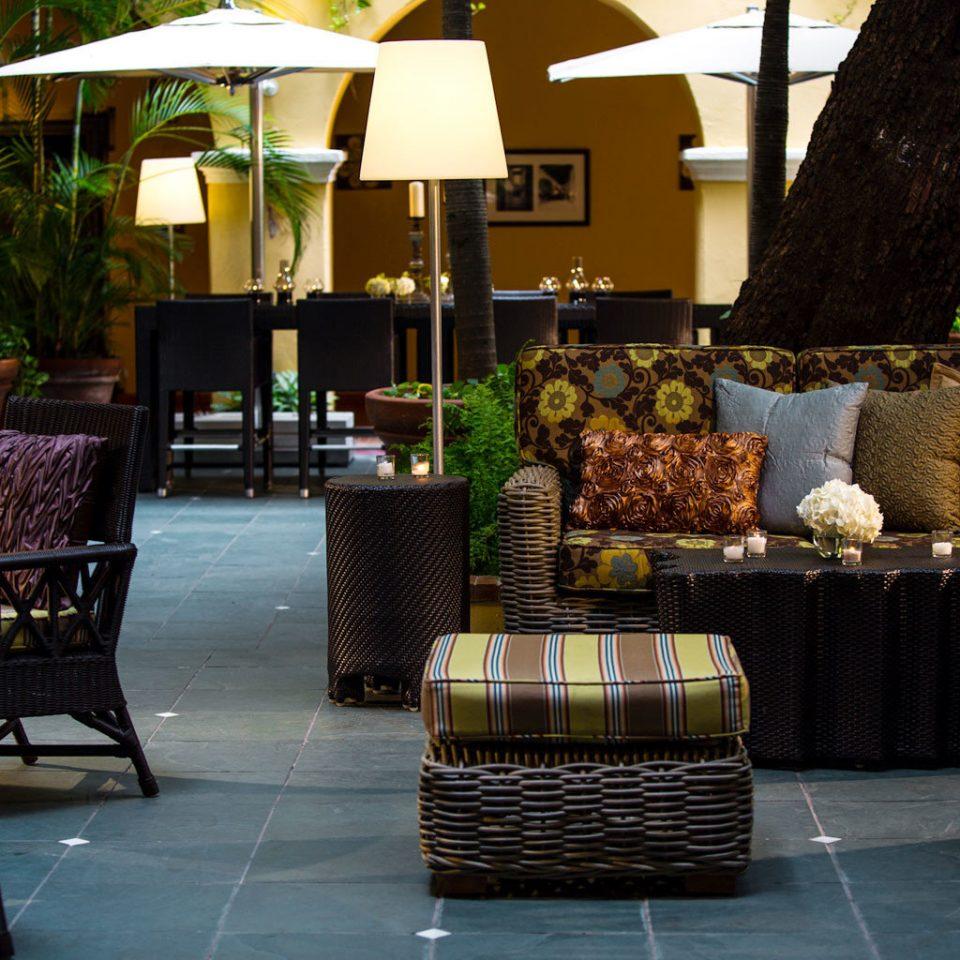 Elegant Hip Hotels Lounge Luxury chair restaurant Lobby outdoor structure backyard set arranged