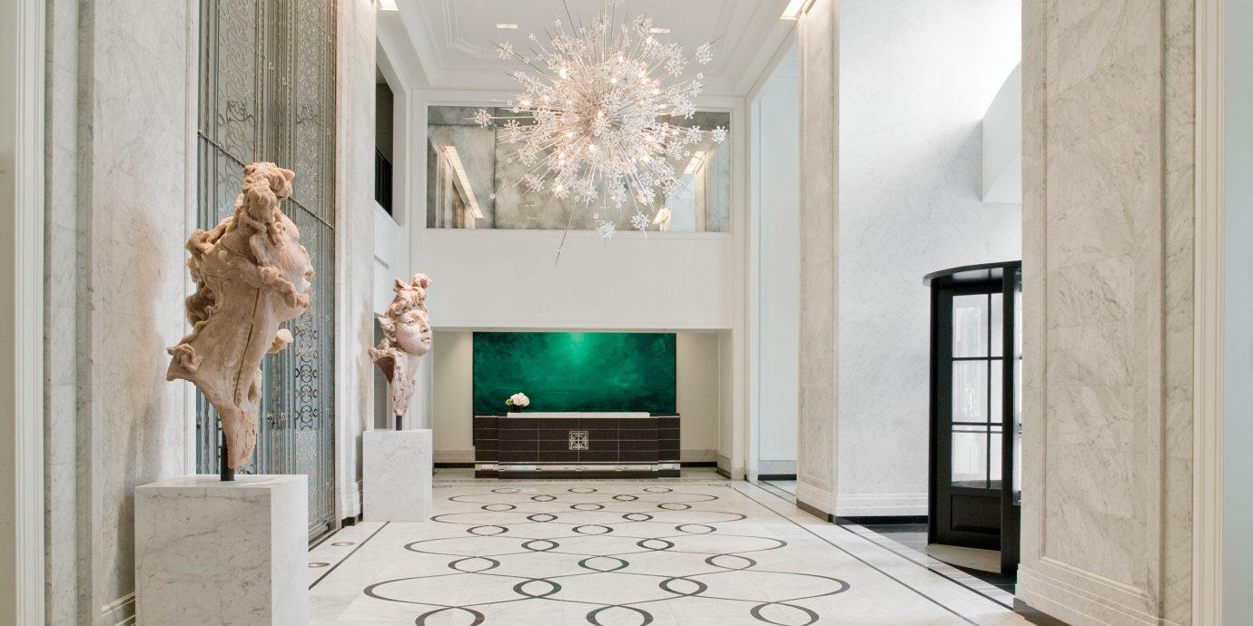 Elegant Hip Lobby Luxury Modern property living room home hall lighting flooring