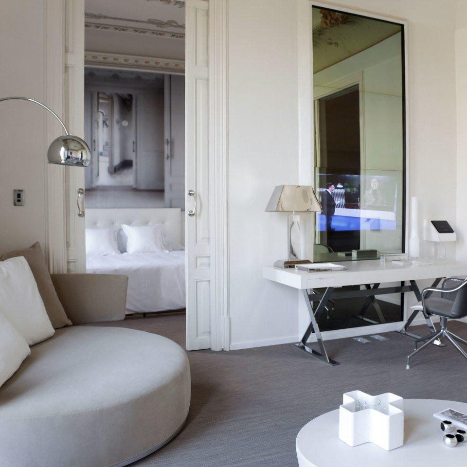 Elegant Hip Lounge Luxury Modern property building home living room condominium white Suite cottage