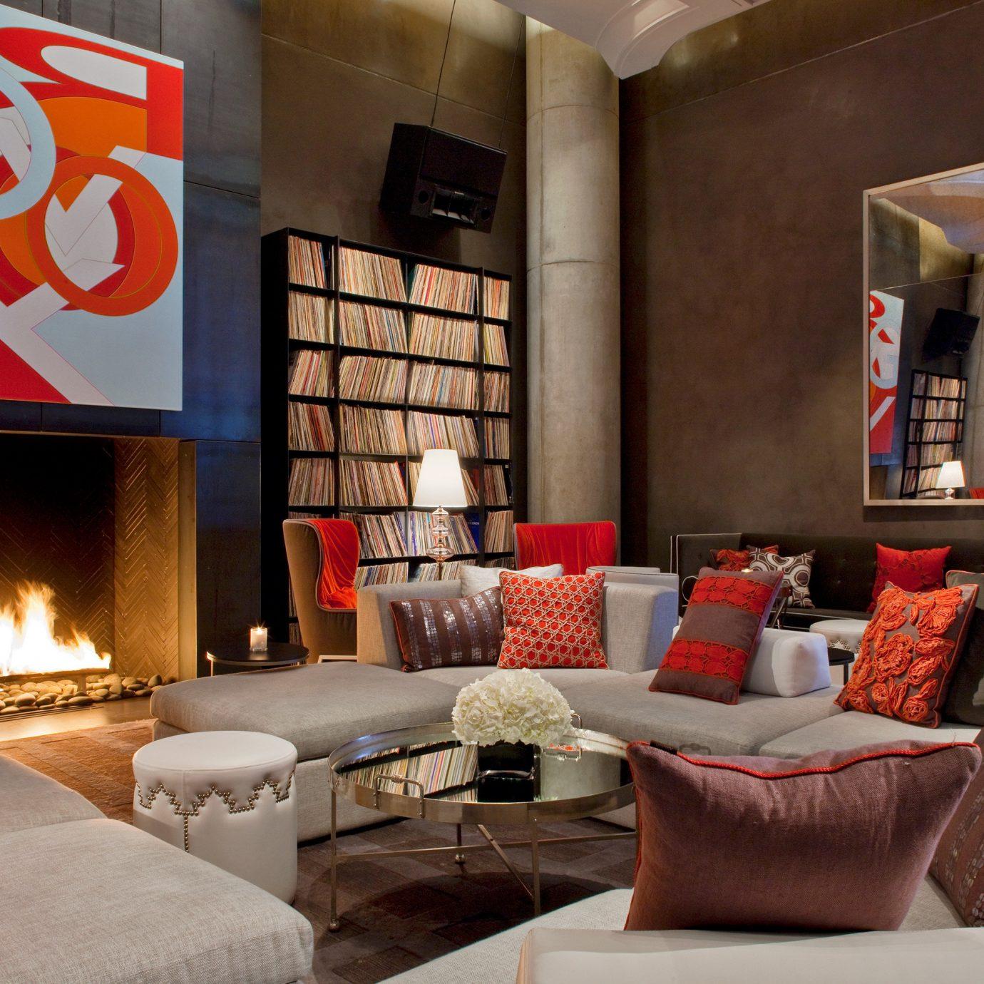 Elegant Hip Lounge Luxury Modern living room property home loft