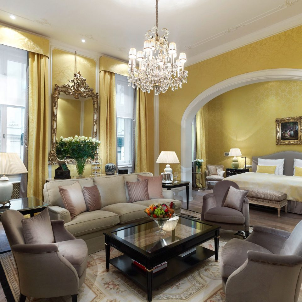 Elegant Historic Hotels Lounge Luxury sofa living room property home condominium Suite mansion Villa leather
