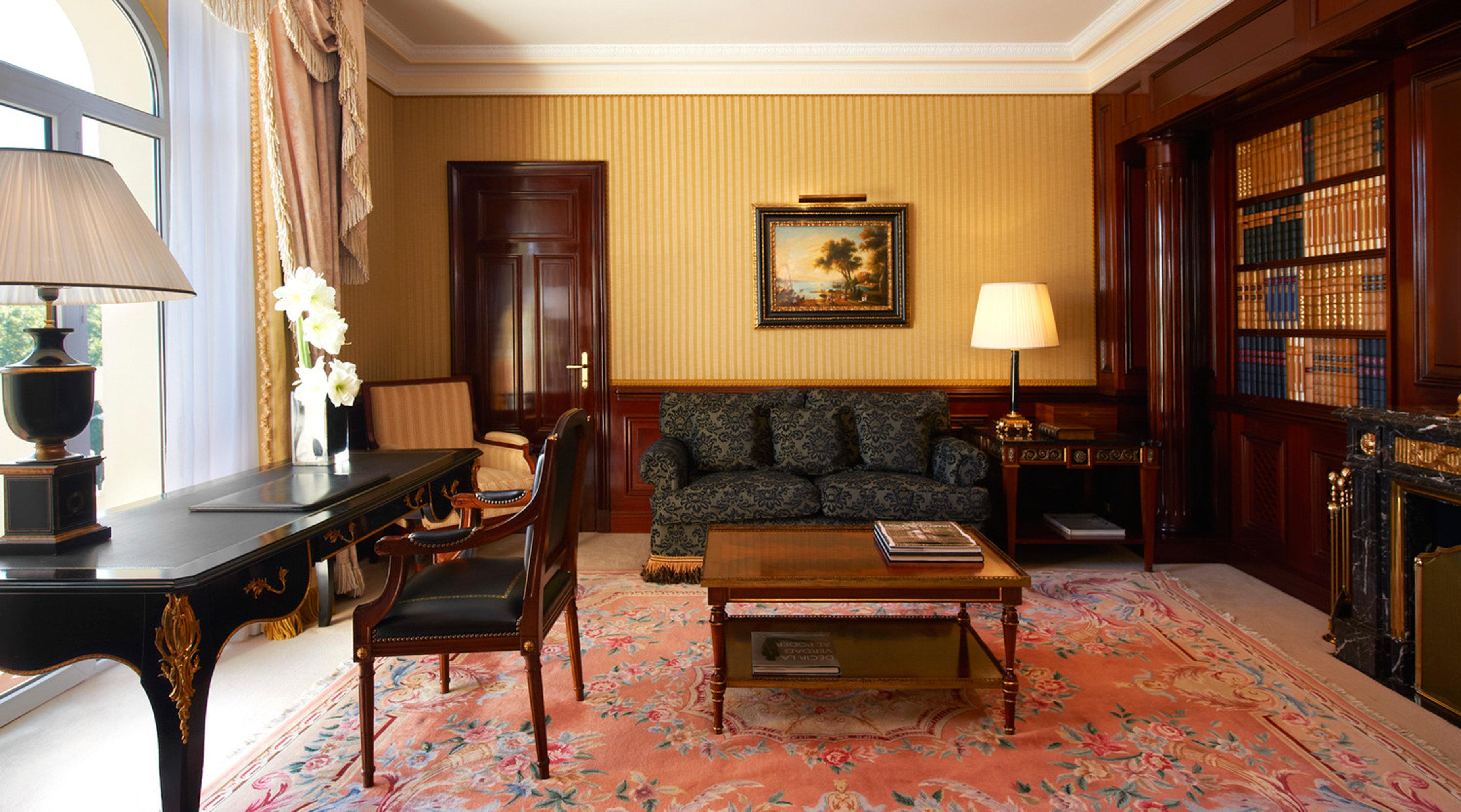 Elegant Historic Hotels Lounge Luxury Madrid Spain property living room home Suite recreation room mansion cottage