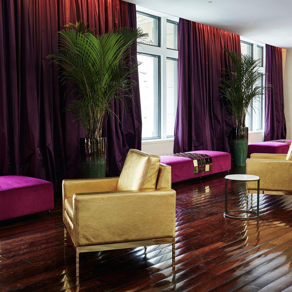 Elegant Historic Lobby Lounge Modern curtain living room property home Suite condominium flooring