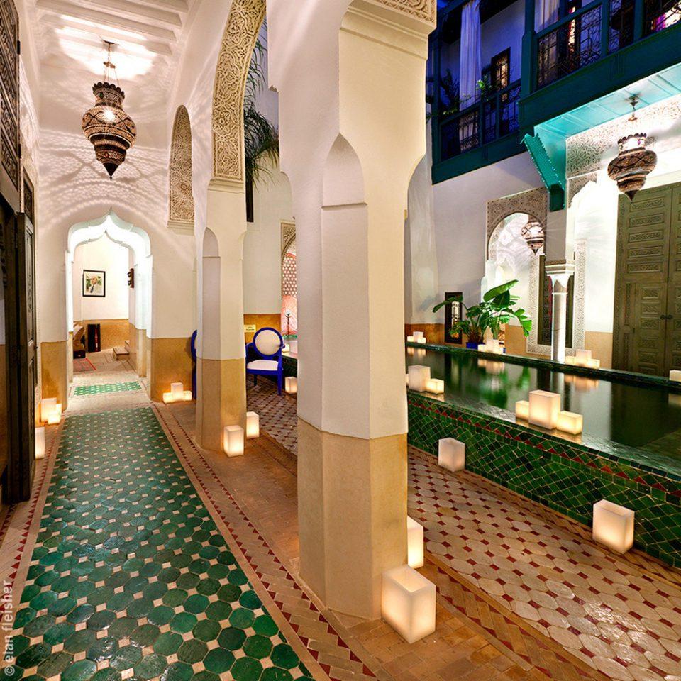 Elegant Historic Lounge Luxury Lobby