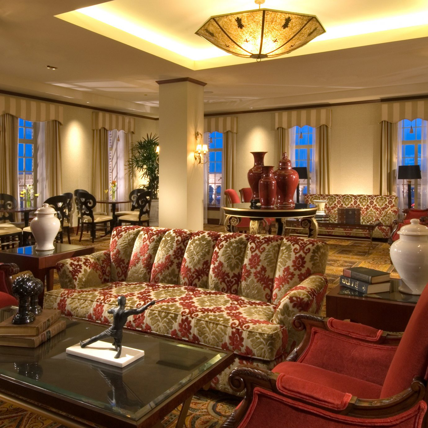 Elegant Historic Lounge living room property recreation room Lobby home Suite mansion Resort