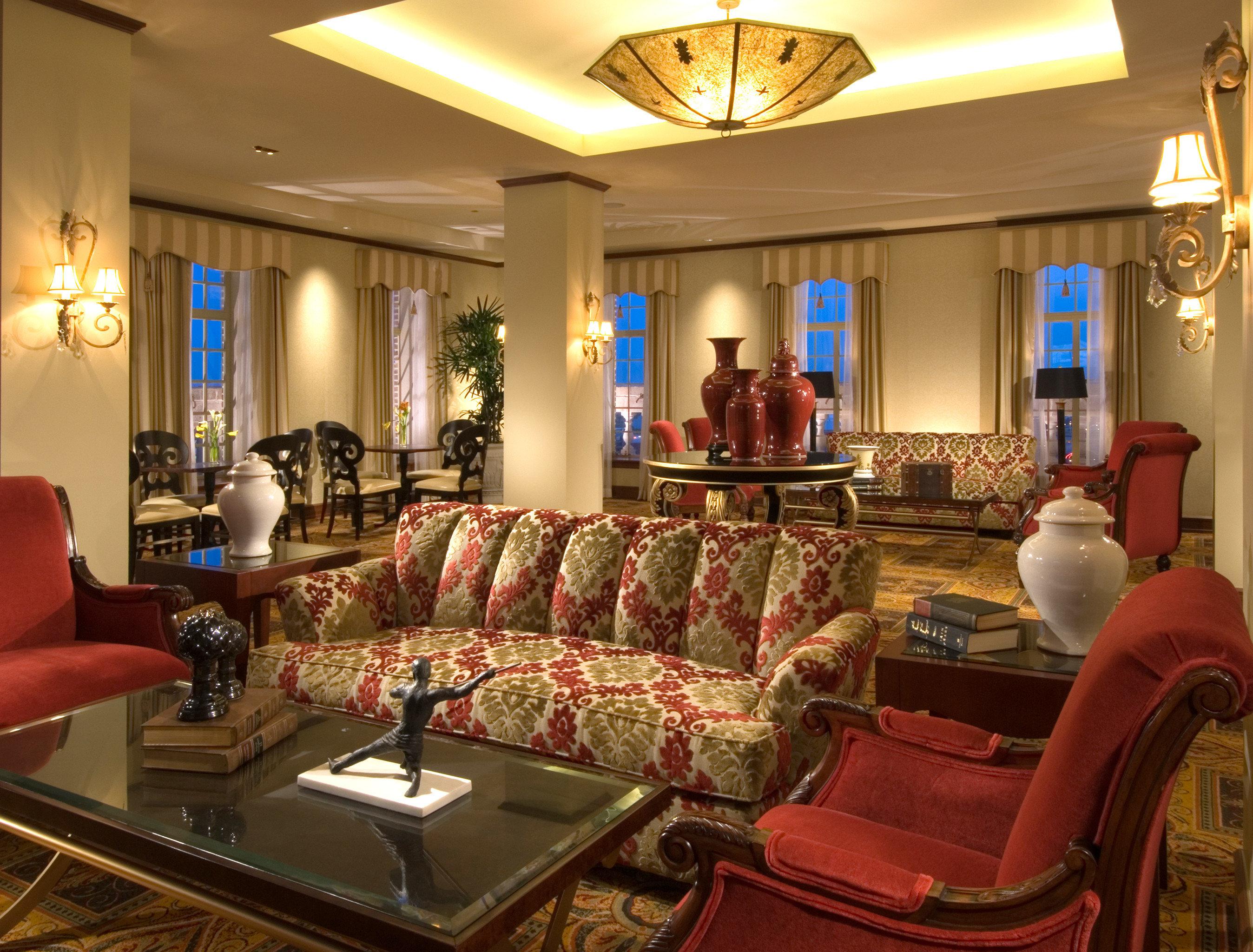 Elegant Historic Lounge living room property recreation room Lobby home Suite mansion Resort