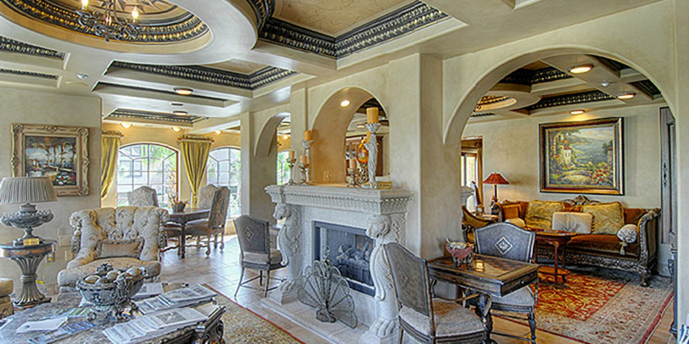 Elegant Historic Lounge Luxury property building mansion home living room Lobby palace