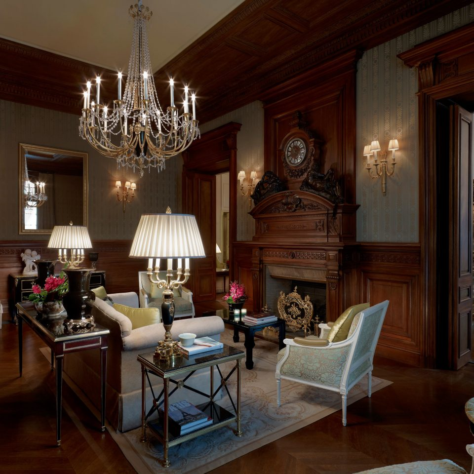 Elegant Historic Lobby Lounge Luxury property living room home house lighting mansion cottage